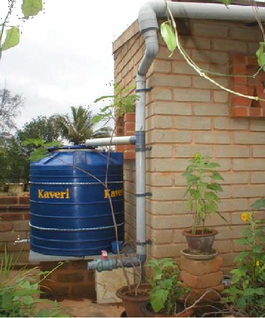 Rainwater Can Be Used Directly In Water Scarce Period By Construction Of  Sump And Collect The Roof Top Rainwater Through Filter Media.